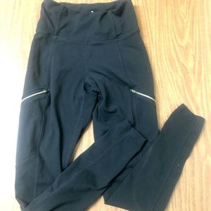 Athleta cargo tights